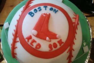redsox cake