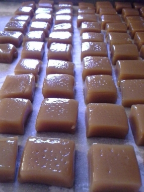 salted caramel - so good.