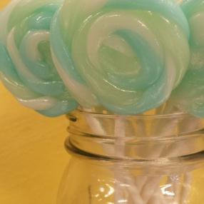 Handmade lollipops!